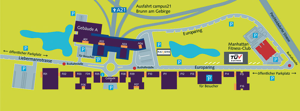 campus21 Masterplan